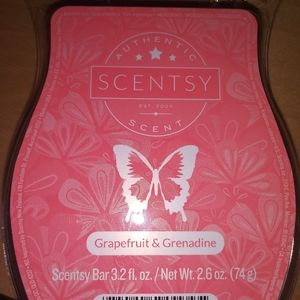 🐞 5 for $25 🐞 Scentsy Wax Bar Grapefruit & Grena